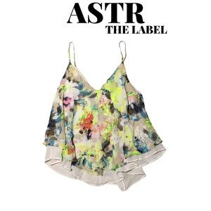 NWOT ASTR the Label Swing Cami Tank, Size Small